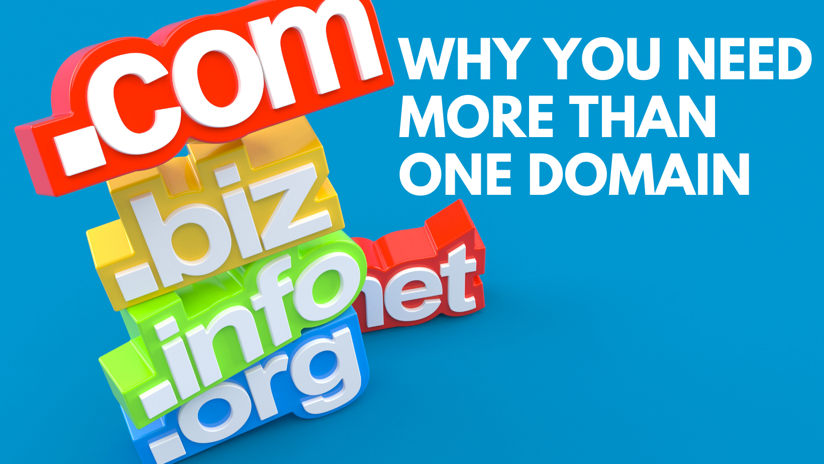 Why you need more than one domain Reasons and Tips